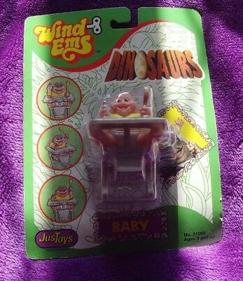 Bn S/s Disney Dinosaurs Baby Sinclair Wind Ems Action Figure