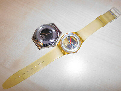Swatch Jelly Fish defekt gebrochen und Chrono Irony defekt