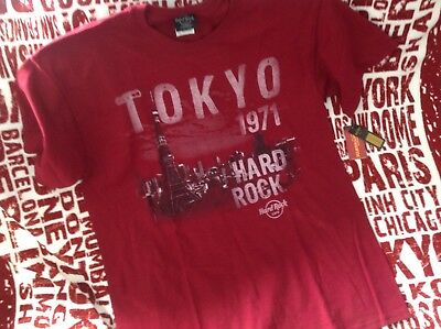 Hard Rock Cafe TOKIO MENS ALT CITY 1971 Shirt neu mit Etikett top
