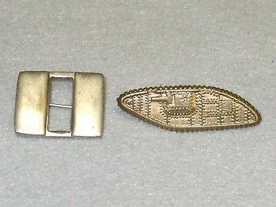 Wwii Us Army Armor Officers Insignia And Captains Bars Original Period Emblems