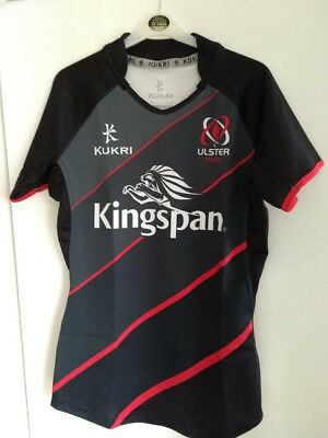 """Bnwot Player Issue Ulster Rugby Training Top Shirt, 42"""" Chest, Large. Ireland."""