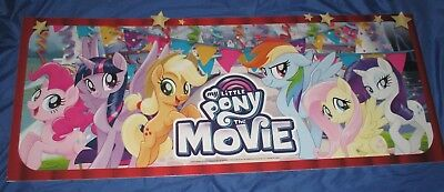MY LITTLE PONY Toys R Us Exclusive Display/Sign (LARGE 4' x 1.5')  Movie