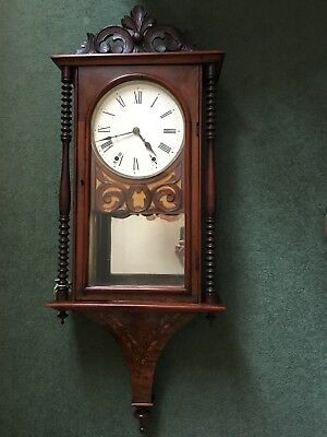 Old Wood Case Clock