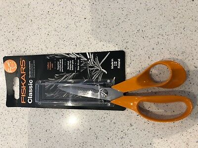 FISKARS Right Handed Classic 18cm Garden/Kitchen/Universal Purpose Scissor