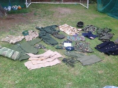 BRITISH ARMY JOBLOT 40 ITEMS (BUYER MUST COLLECT) Less Then £1.00 Each Lot 3