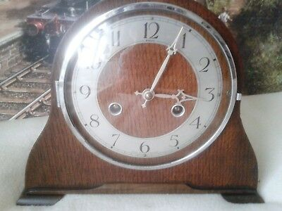 Anvil Striking  Mantle clock in excellent restored condition