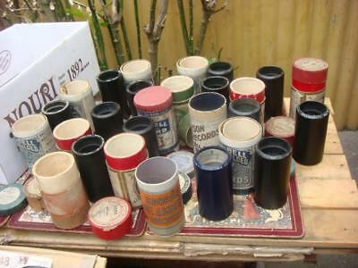 14 Gramophone Phonograph  Cylinder Records Untested