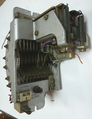 GPO Strowger TYPE 2/86a UNISELECTOR WITH 2 BRIDGING and 6 NON BRIDGING WIPERS