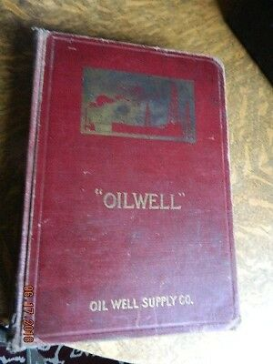 Oil Well Supply 1916, 690 pages Old Gas Engine Hit Miss Derrick steam whistle