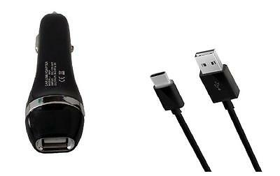 2.1A Car Charger+5ft USB Cable Cord for Samsung Galaxy S9 Plus, Galaxy S9