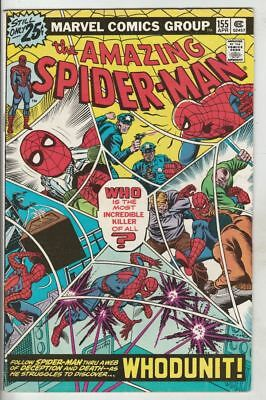 Amazing Spider-Man # 155 Strict VF/NM 1st Appearance Leroy Tallon Wow