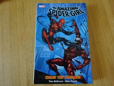 Rare Copy Of Amazing Spider-Girl: Comes The Carnage Tpb Graphic Novel! Marvel!