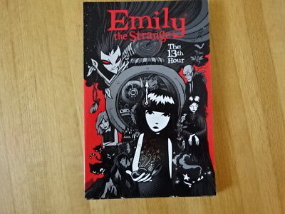 Rare Copy Of Emily The Strange: The 13Th Hour Tpb Graphic Novel!