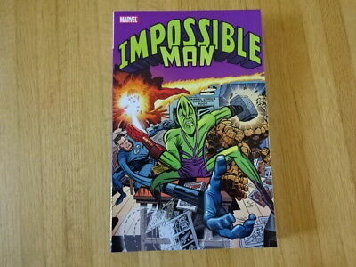 Rare Copy Of Impossible Man Tpb Graphic Novel! Marvel!