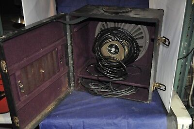 """VINTAGE Bell and Howell """"Filmosound"""" Reel to Reel projector with Speaker"""