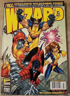 Wizard Magazine #91 X-Men