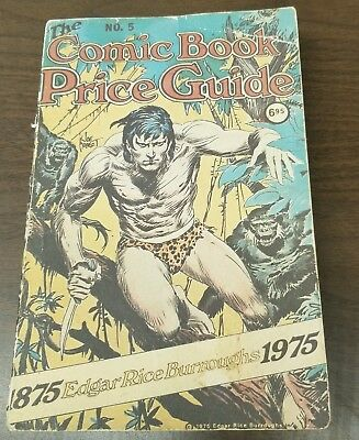 Overstreet Price Guide #5 1975 Vg