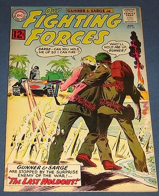 Our Fighting Forces #70 Aug 1962