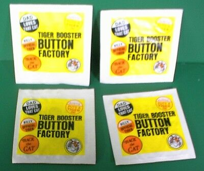 20 Tiger In The Tank Ad Buttons Mint Exxon Gas Station Jersey Standard Oil Gas
