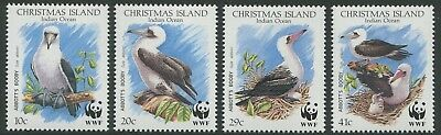 Abbott's Booby 1990 - Mnh Set Of Four (Bl352-Rr)