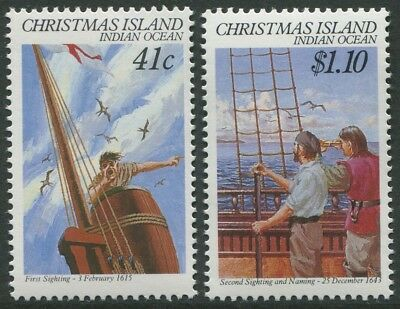 375th ANNIVERSARY FIRST & SECOND SIGHTINGS 1990 - MNH SET OF TWO (BL353-RR)