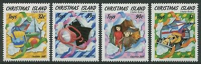 Christmas 1988 - Mnh Set Of Four (Bl356-Rr)