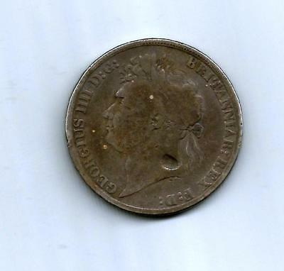 A King George IV 1822 Silver One Crown Coin
