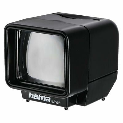 Hama Slide Viewer DB54 35mm Slides 3x Magnification Battery Powered Illumination