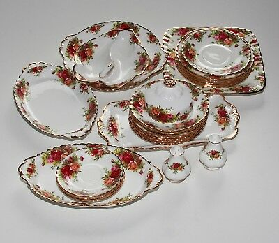 Royal Albert Old Country Roses, Job Lot Of Various Pieces.