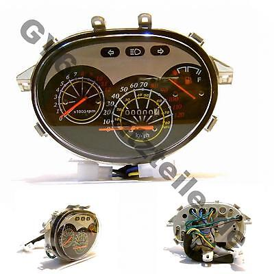 TACHOMETER TACHO COCKPIT z.B. BT49QT-7 BAOTIAN CHINA ROLLER SCOOTER MOPED BUGGY