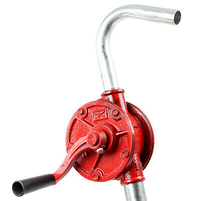 [TERA PUMP] Rotary Hand Crank Manual Drum Barrel Pump for Oils Fuel Gasoline 1PK