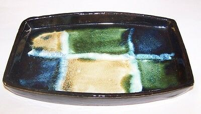 Rossa Cashel Ireland Irish Studio Pottery Dish