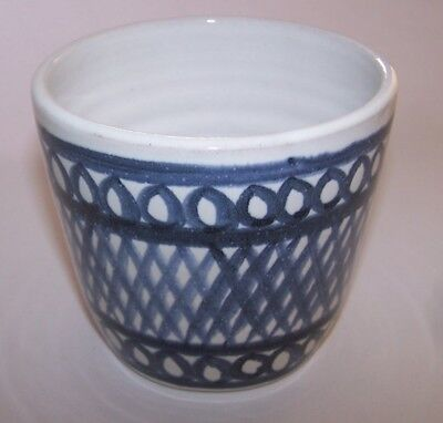 Rye Pottery Hand Thrown & Painted Planter
