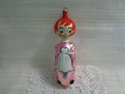 Vintage Made In Italy Raggedy Ann Ornament