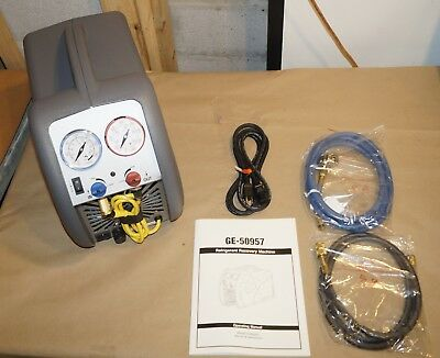 NEW!  Robinair Kent-Moore GE-50957 Contaminated Refrigerant Recovery Machine