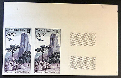 CAMEROON  C30  Very  Nice  Mint  Never  HInged  IMPERF PAIR   OD g77