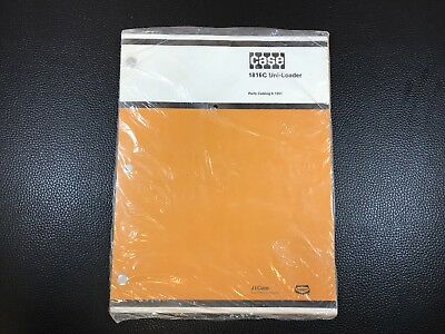 Original CASE 1816C Uni-Loader Dealer Parts Catalog - Factory Sealed
