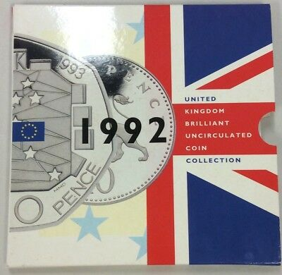1992 United Kingdom Brilliant Uncirculated Coin Collection