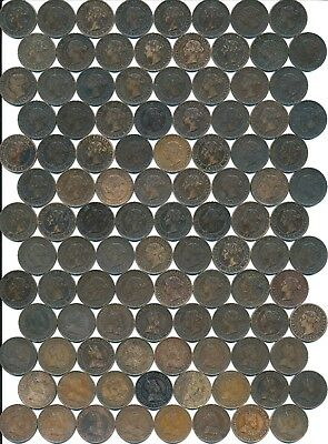 104 Old Large One Cents Canada 1894-1903