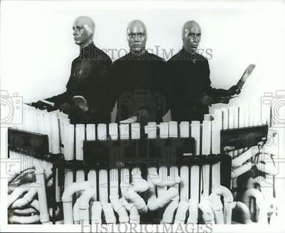 1992 Press Photo Phil Stanton, Chris Wink & Matt Goldman of the Blue Man Group