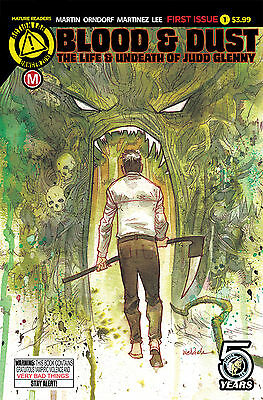 BLOOD AND DUST #1 COVER A (Action Lab 2016 1st Print) COMIC