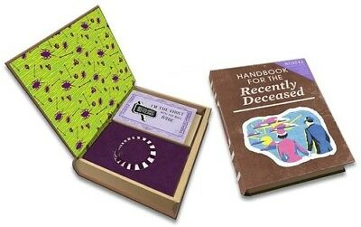 Beetlejuice: Handbook For The Recently Deceased Deluxe Note Card Set(With Keepsa