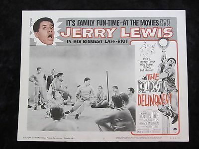 The Delicate Delinquent lobby card # 2 - Jerry Lewis - R62 lobby card