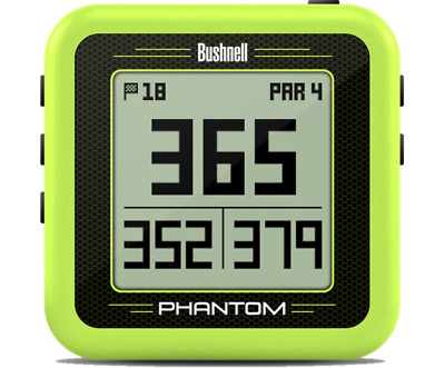 2018 Bushnell PHANTOM GPS Preloaded with 36,000+ Courses -  NO FEES - Green