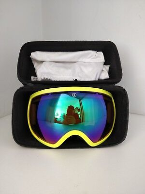 Electric EG2 snow goggles - toxic snot bronze/green chrome with hard case