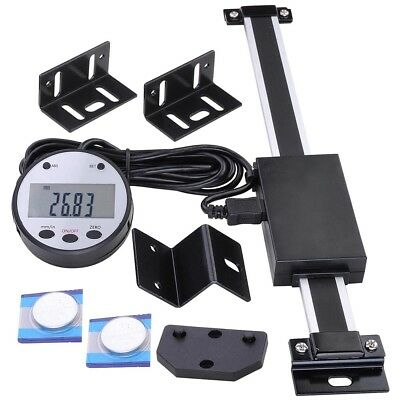 """6"""" 150mm Vertical Digital DRO Large Remote LCD Readout Scale For Bridgeport Mill"""