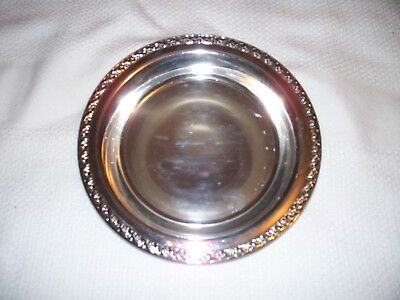 Vintage Silver Plated 10.5 inches wide Serving Dish