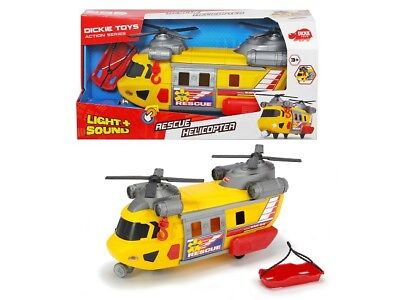 Dickie Toys 203306004 - Action Series - Rescue Copter - Light & Sound - Neu