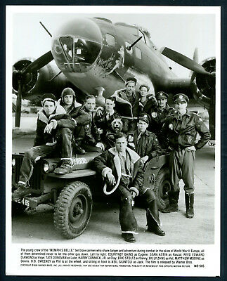 Memphis Belle '90 WWII BOMBER PILOTS JEEP COURTNEY GAINS SEAN ASTIN REED EDWARD