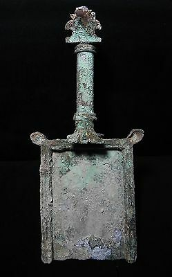 ZURQIEH - JUDAEA -  Roman Bronze ceremonial incense shovel 100 - 200 A.D